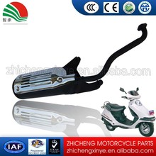 High Performance Black Painting Scooter Exhaust GY6-125CC