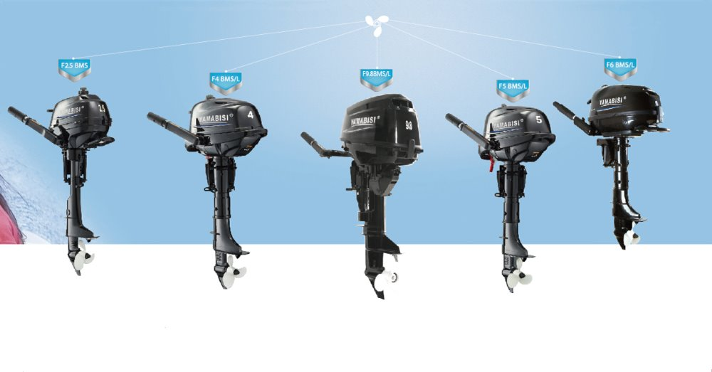 CE-Approved 4 stroke YAMABISI outboard motor/engine (2.5hp 4hp 5hp 6hp 9.8hp 15hp 20hp)