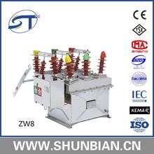 Zw20 -12kv vacuum circuit breaker manufacturer
