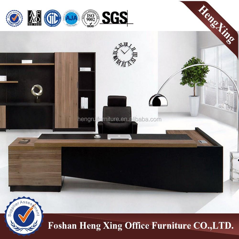 Moderne nieuwste ontwerp houten excutive tafel & kantoor tafel (hx ...