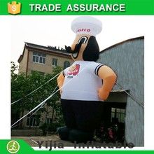 10meters high custom made inflatable chef