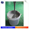 Electrically conductive grease gray heat dissipation for LED light