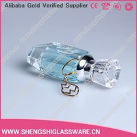 customized perfume or cosmetic glass bottle with pump