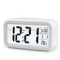 High Quality Big display Talking Alarm Clock with time and date announcement