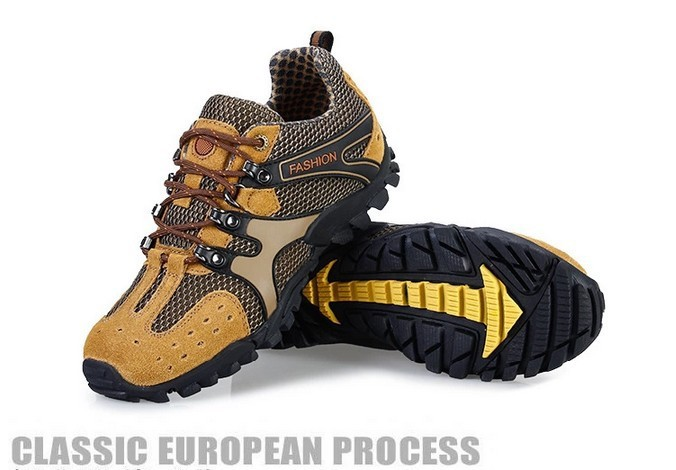 открытый восхождение скольжения дышащая кожа Путешествия Туризм моды спортивная обувь