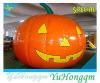 2014 halloween festival party use pvc tarpaulin inflatables pumpkin models replica products wholesale