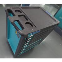 7 Drawers Metal Multifunction Tool Cabinet,Stainless steel,Drawer tool box