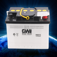 Car battery of wholesale 12v dry charged car battery 62ah-56219 automotive battery