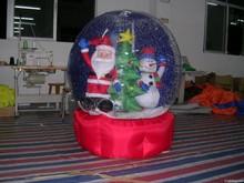 2014 popular Christmas santa with christmas ornament for decoration