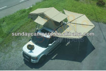 Camping equipment outdoor sports 4x4 roof tent car awning for sale