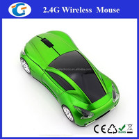 New USB High Speed Wireless Optical 3D Car Shaped Mouse for Computer Laptop Notebook PC