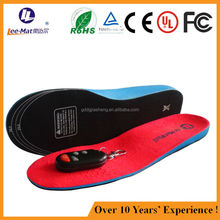Rechargeable heated insoles battery insoles snow ski boot insoles boot skating heated insoles