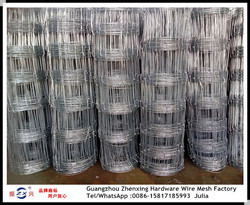 China supplier supplying hot-dipped galvanized farm wire mesh fence ZX-NLW013