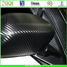 3D/4D/5D carbon fiber vinyl for car warping