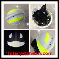 Rescue Helmet For Fire Fighting With Reflective Tape