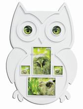 Owl plastic photo picture frame online animal sharp plastic photo frame