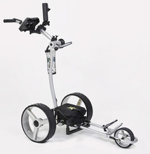 New Design Motor Caddy Electric Powered Golf Trolley Golf Candy Cart Trolley