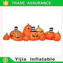 Lighting Inflatable Pumpkin halloween garden Decoration