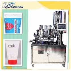2015 chinese best price semi-automatic pigment tube filler and sealer