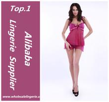 Venta caliente mujeres en ropa interior transparente para ventas al por mayor