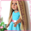 Beauty girls doll hair accessory,straight doll wigs