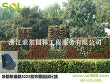 Sol 2015 nuovo design prezzo di fabbrica muro fioriera modulare di parete verde vasi di fiori