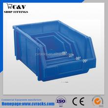 Warehouse plastic storage Bins - stackable