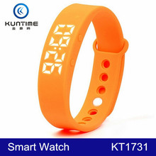 2015 Promotional Silicone Pedometer Watch Step Counter Smart Watch
