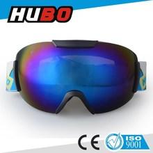 custom color frame REVO coating lens high quality ski snow goggles equipment