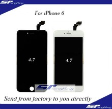100% Original for iphone 6 lcd touch screen digitizer, Touch screen TFT LCD Replacement Panel for iphone