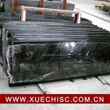 China Natural black stone tombstone, shanxi black granite tombstone factory price