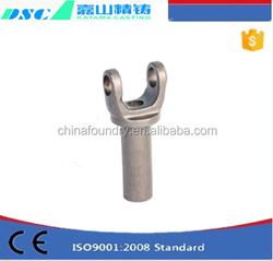 Customized Machinery Parts stainless steel universal joint for Auto transmission