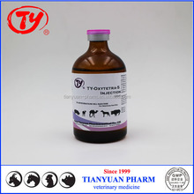High quality Oxytetracycline Hcl 5% Injection 100ml veterinary medicine for sale