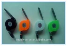 2 en 1 múltiples funciones extensible fideos Cable de datos USB cargador para Iphone Android Samung MI teléfonos celulares
