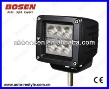 "2014 New arrival,18W 3"" Cree 9-30V offroad led work light,12V 24V 18W LED Work Light ATV SUV Mine Boat Lamp 4WD IP67 bright led"