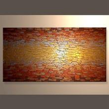 venta al por mayor pintados al óleo lienzo de arte para sala de estar