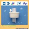 Respiration of carbon filter bacteria