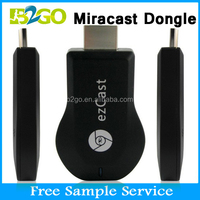 Hot selling B2GO miracast rockchip dongle M2 Ezcast V5ii WiFi Display