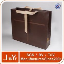 advertising fashion design plain paper gift bag