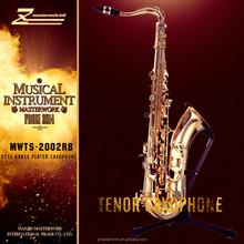 Más famoso rose latón saxofón tenor venta