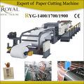 rolo de papel industrial cutter cortador de papel ryg