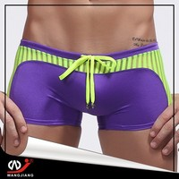 Hot sale sexy men swimwear comfortable, customized logos/artworks are accepted