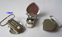 Lead nickel free Metal Mitten suspender clip