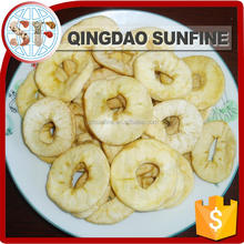 Organic preserved dried apple ring