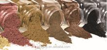 Organic keratin hair fibers, hair thickening fibers, hair building fibers