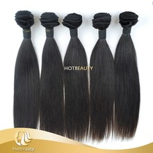 "Silky Straight wave 10""-30"" Grade 5A wholesale 100% natural remy human virgin indian hair"