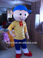 Adult hot Christmas Caillou cartoon Mascot Costume Fancy advertising party mascot costume