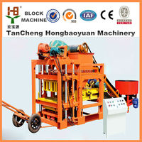 project proposal of machine hollow block making QT4-28 hollow solid blocks making machine