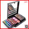 YASHI 78 color 60 eyeshadow makeup palette with 12color lip gloss and 6 color blush