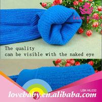 High quality fashion cute cotton warmer winter velvet leg cuff baby diapers